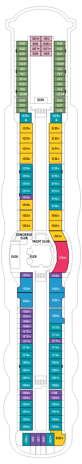 Royal Caribbean - Deck Ten