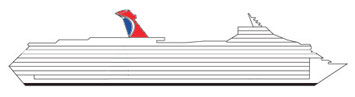 Carnival cruise ship profile image